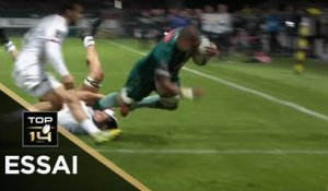 TOP 14 - Essai Peter SAILI (SP) - Pau - Toulouse - J10 - Saison 2018/2019