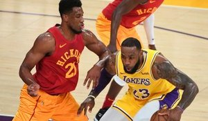 NBA : LeBron James et les Lakers se reprennent