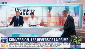 Conversion : les revers de la prime