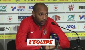 Henry «On a su tenir» - Foot - L1 - Monaco