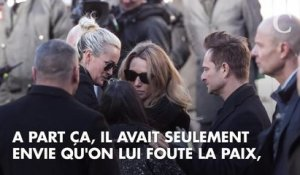 "David Hallyday : ""Johnny n'avait pas envie qu'on l'emmerde"""