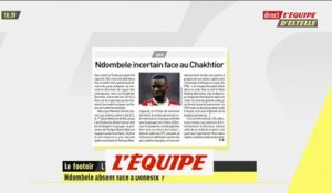 Ndombele incertain contre le Chakhtior Donetsk - Foot - EDE