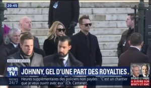David et Laura Smet obtiennent le gel d'une part des royalties de Johnny Hallyday