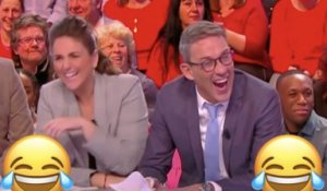 L'énorme fou rire de Julien Courbet (TPMP) - ZAPPING TÉLÉ BEST OF DU 24/12/2018