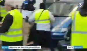 """Gilets jaunes"" : le comportement violent d'un policier interpelle"