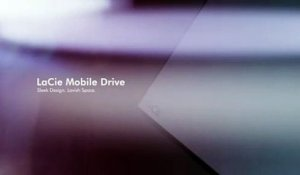 LaCie I The Mobile Drive - Sleek Design, Lavish Space (1080p)