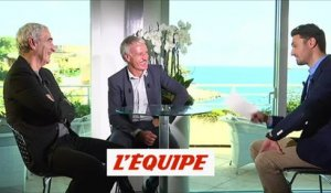 «D'accord, pas d'accord» avec D. Deschamps et R. Domenech - Foot - L'Equipe d'Estelle