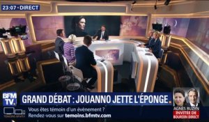 Grand débat: Chantal Jouanno jette l'éponge (3/4)