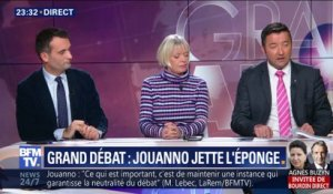 Grand débat: Chantal Jouanno jette l'éponge (4/4)
