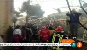 Iran : quinze morts dans le crash d'un avion
