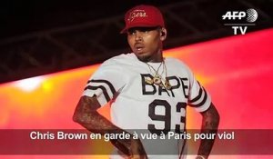 Le rappeur Chris Brown en garde à vue à Paris pour viol