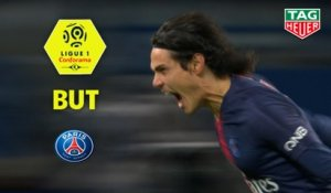 But Edinson CAVANI (7ème) / Paris Saint-Germain - Stade Rennais FC - (4-1) - (PARIS-SRFC) / 2018-19