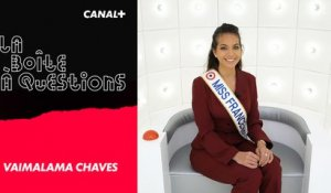 La Boîte à Questions de Miss France 2019 Vaimalama Chaves - 04/02/2019