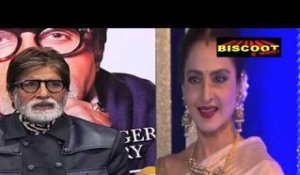 Rekha says yes to Amitabh!
