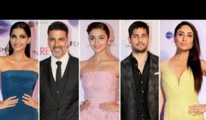 Bollywood Celebs At The Filmfare Glamour and Style Awards