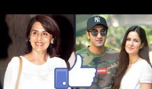 WATCH! Neetu Kapoor Likes Ranbir's Ex Katrina And We Have Proof