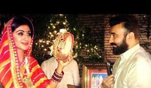 Shilpa Shetty's KARVA CHAUTH 2017 With Husband Raj Kundra Full Video HD
