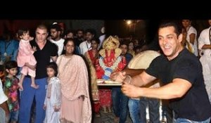 Salman Khan's GRAND Ganpati Visarjan 2018 Full INSIDE & Outside Video