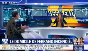 Le domicile de Richard Ferrand incendié (2/2)