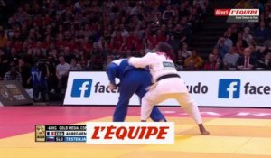 L'or pour Agbegnenou - Judo - Paris Grand Slam