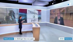 Christophe Dettinger, une audience et des explications
