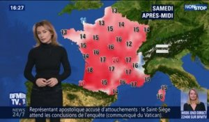 Quel temps fera t-il ce week-end?