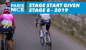 Stage Start / Début de l'étape - Étape 8 / Stage 8 - Paris-Nice 2019