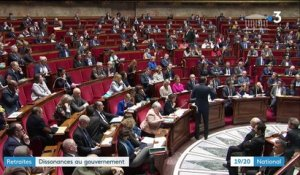 Retraites : dissonances au gouvernement