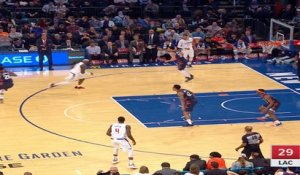 Los Angeles Clippers at New York Knicks Raw Recap
