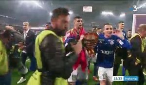Football : Strasbourg remporte la Coupe de la Ligue à l'arraché
