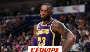 La saison de LeBron James, un échec ? - Basket - NBA - Lakers