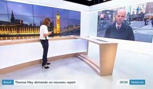 Brexit : Theresa May demande un nouveau report