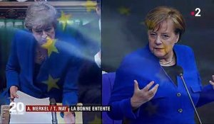 Angela Merkel / Theresa May : des sourires qui posent question