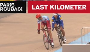 Last Kilometer - Paris-Roubaix 2019 - Philippe Gilbert wins Paris-Roubaix