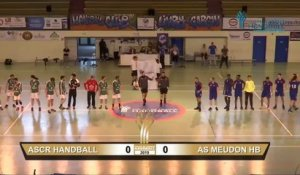 Coupe de France - dernière étape avant Paris ASCR Handball - As Meudon Handball
