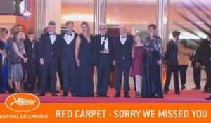 SORRY WE MISSED YOU - Red Carpet - Cannes 2019 - EV
