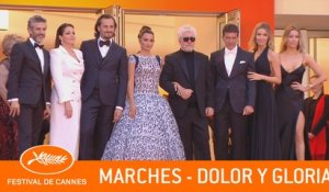DOLOR Y GLORIA - Les marches - Cannes 2019 - VF
