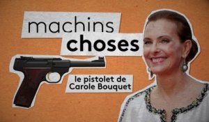 Carole Bouquet dans la collection Machins Choses