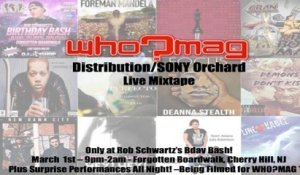 WHO?MAG Distribution - Live Video Mixtape - Some of today's best indie performers!