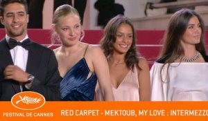 MEKTOUB MY LOVE INTERMEZZO - Red carpet - Cannes 2019 - EV