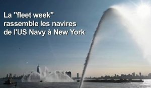 Parade de la Fleet Week 2019 à New York
