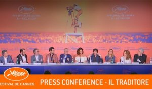 IL TRADITORE - Press conference - Cannes 2019 - EV