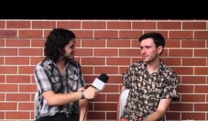 Chance Waters (Sydney) - Interview at Big Day Out 2013