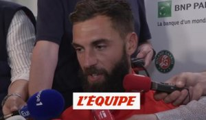 Paire «Beaucoup de déception, de frustration» - Tennis - Roland-Garros