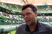 ATP - Halle - ATP - Halle - Benoît Paire and Jo-Wilfried Tsonga played football.. while their match !