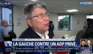 PCF, LFI, PS, LR... L'opposition en meeting contre la privatisation d'ADP