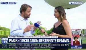 Paris: Circulation restreinte demain (1/2)