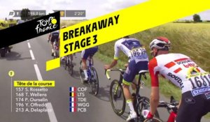 Echapée / Breakaway - Étape 3 / Stage 3 - Tour de France 2019