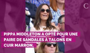 PHOTOS. Wimbledon 2019 : Pippa Middleton, élégante en rose pou...