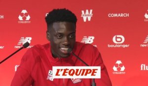T. Weah «J'ai envie de devenir un grand» - Foot - L1 - Losc